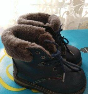 Ботинки зима 22р