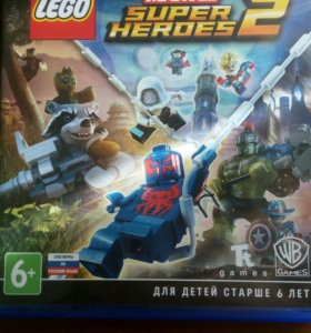Игра на ps4 Lego Marvel Super Heroes 2