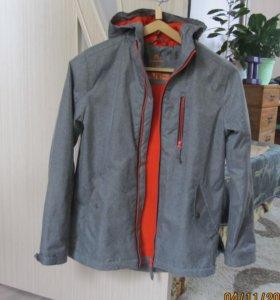 куртка-ветровка на мальчика , рост 130-140
