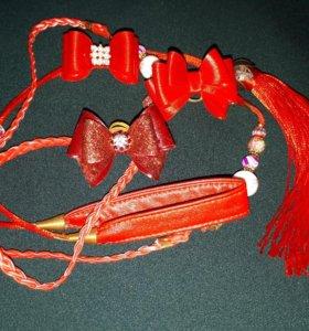 Ринговка и банты для выставки