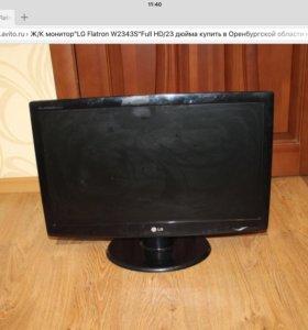 """Ж/К монитор""""LG Flatron W2343S""""Full HD/23 дюйма"""
