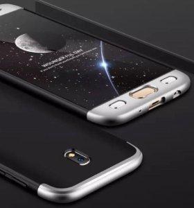 Защитные чехол и стекло для SAMSUNG Galaxy J5 2017