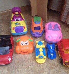 Машинки набором