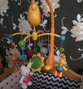 Музыкальная карусель «Жирафик»
