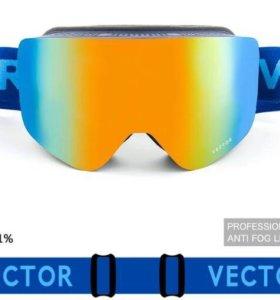 Горнолыжная маска Сноуборд Лыжи
