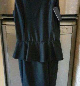 Новое платье с баской