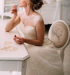 Свадебное платье от Тани Григ