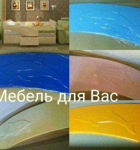 Кровать Дельфин 1,8