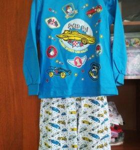 Пижама новая на 116