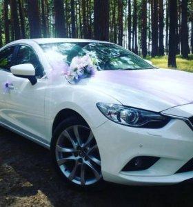 Mazda 6 New на свадьбу
