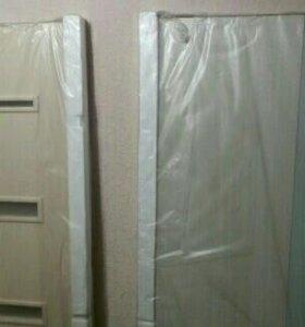 2 дверных полотна (новые в упаковке)