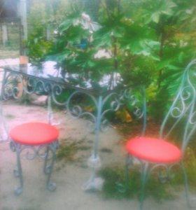 Стол стулья табуреты