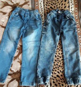 Детские джинсы 110 р.