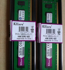Оперативная память новая DDR3 4Gb PC-1600 для AMD