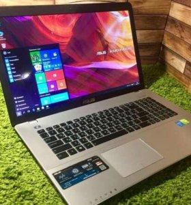 """Игровой ноутбук 17,3"""" Asus k750c. Core i5"""