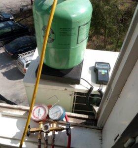 Ремонт чистка заправка сплит систем