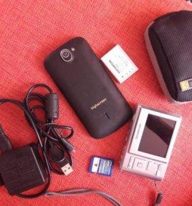 аккумулятор и зарядка от фотоаппаратов