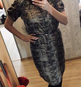 Платье INCITY шелковое
