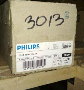 Лампы люминесцентные Philips TL-D 18W/33-640 G13 T