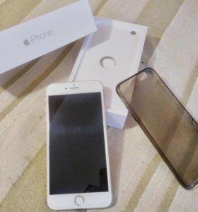Айфон 6 плюс + iPhone 6 Plus gold золото 16 gb