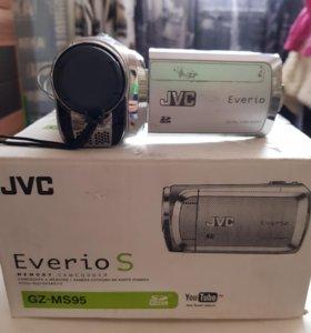 Флеш видеокамера JVC GZ- MS95