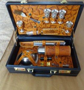 Подарочный набор для шашлыка в кейсе