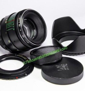 Гелиос 44-2 комплект для Canon, M42-EOS чип бленда