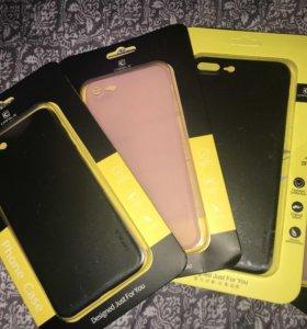 Чехлы на iPhone 7 и 7+. Ультратонкое