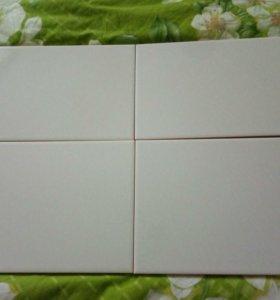 Плитка 20*30 керамическая глазурованная белая