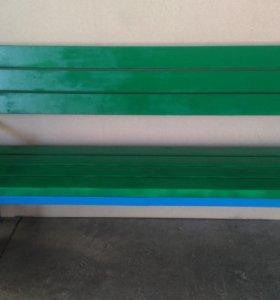 Скамейка, выбор покрытия.