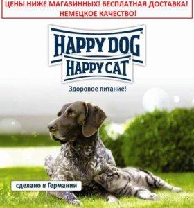 Корма Happy Dog & Happy Cat