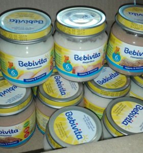 Мясное пюре Бэбивита (Bebivita)