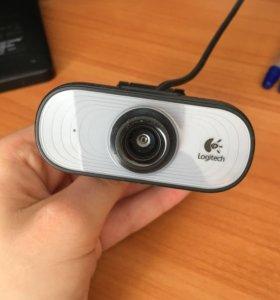 Веб-камера Logitech Webcam C100