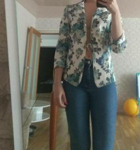 Пиджак джинс новый