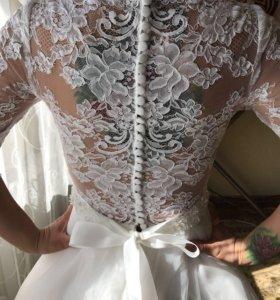 Свадебное шикарное платье