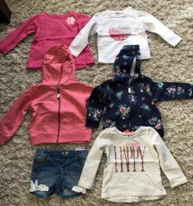 Одежда для девочки 80 размер