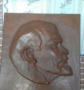 Чеканка Ленин