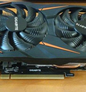 Видеокарта Gigabyte GeForce GTX 1060 WINDFORCE OC
