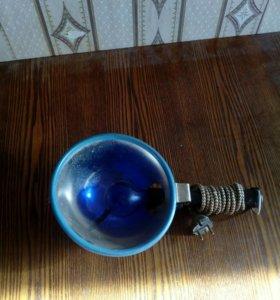 Лампа синяя