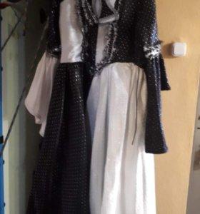 Новогоднее платье Домино