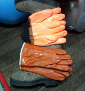 Перчатки и валенки