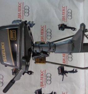 Лодочный мотор Sudzuki 6 л. лот 14(видео работы)