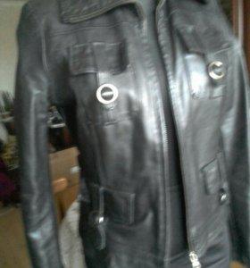 Куртка женская из натуральной кожи