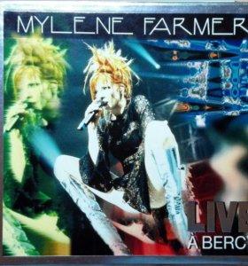 Mylene Farmer Live A Bercy France 2CD 1997Polygraм