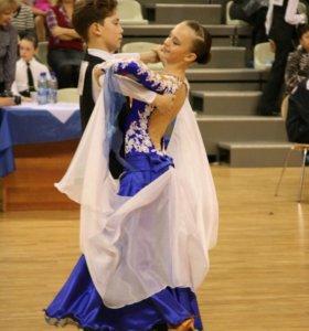 Платье для спортивных бальных танцев Ю-1