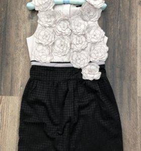 Чёрное платье. Вечернее платье. Коктейльное платье