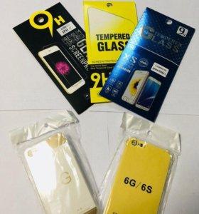 Защитные стекла и чехла на Apple iPhone