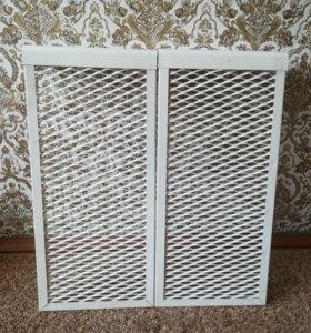 Декоративный экран на чугунный радиатор