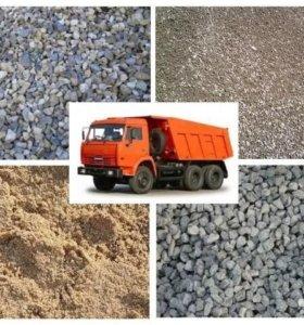 Навоз, песок, щебень, грунт, дрова
