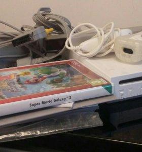 Nintendo Wii + super Mario galaxy 2